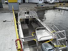 "Моторная  лодка ""Kazboat -47"" для дайвинга"