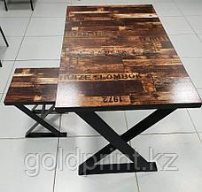 "Стол в стиле Loft ""Z"", фото 2"