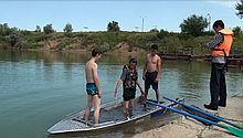 Гребная - моторная лодка Kazboat - 42