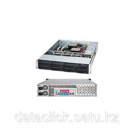 Supermicro CSE-813MFTQ-520/X11SSl-F/Intel Xeon E3 1220v5/32GB DDR4/2*SSD 120GB/2*2TB WD RE/520W Power Supply П, фото 2
