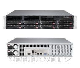 Supermicro CSE 825TQ-R720/X10DRi/2xIntel E5 2620/128GB ECC DDR4/Raid 2108/2*300GB SAS/4x1TB ES3/2*720W PS