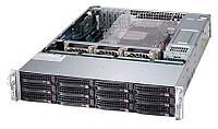 Сервер Supermicro CSE-826E16-R500LPB /X10DRi/E5-2650v3/128GB ECC DDR4/ RAID AOCSAS2LPH8iR /3*600GB SAS/500W PS