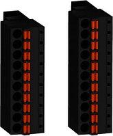 Комплект клеммных блоков для М221М и ТМ3 вход/выход пруж клеммы