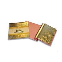 Поталь золото 14х14см, 25 листов, толщина 0,001 мм CDO66006