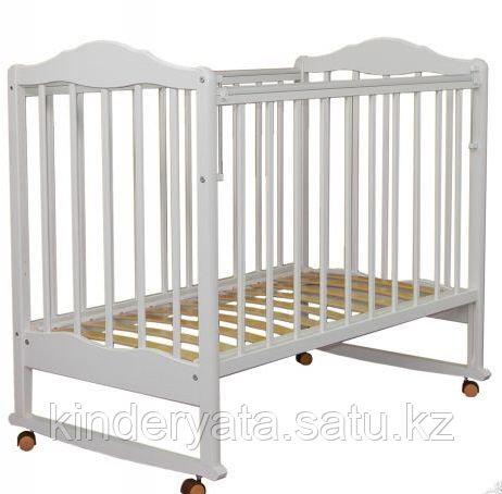 Детская кроватка СКВ-2 (белая)