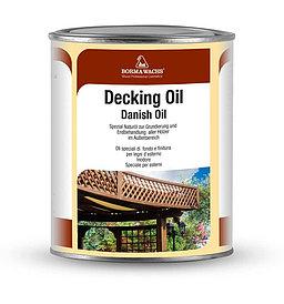 Натуральное датское масло Decking Oil для дерева 1 л