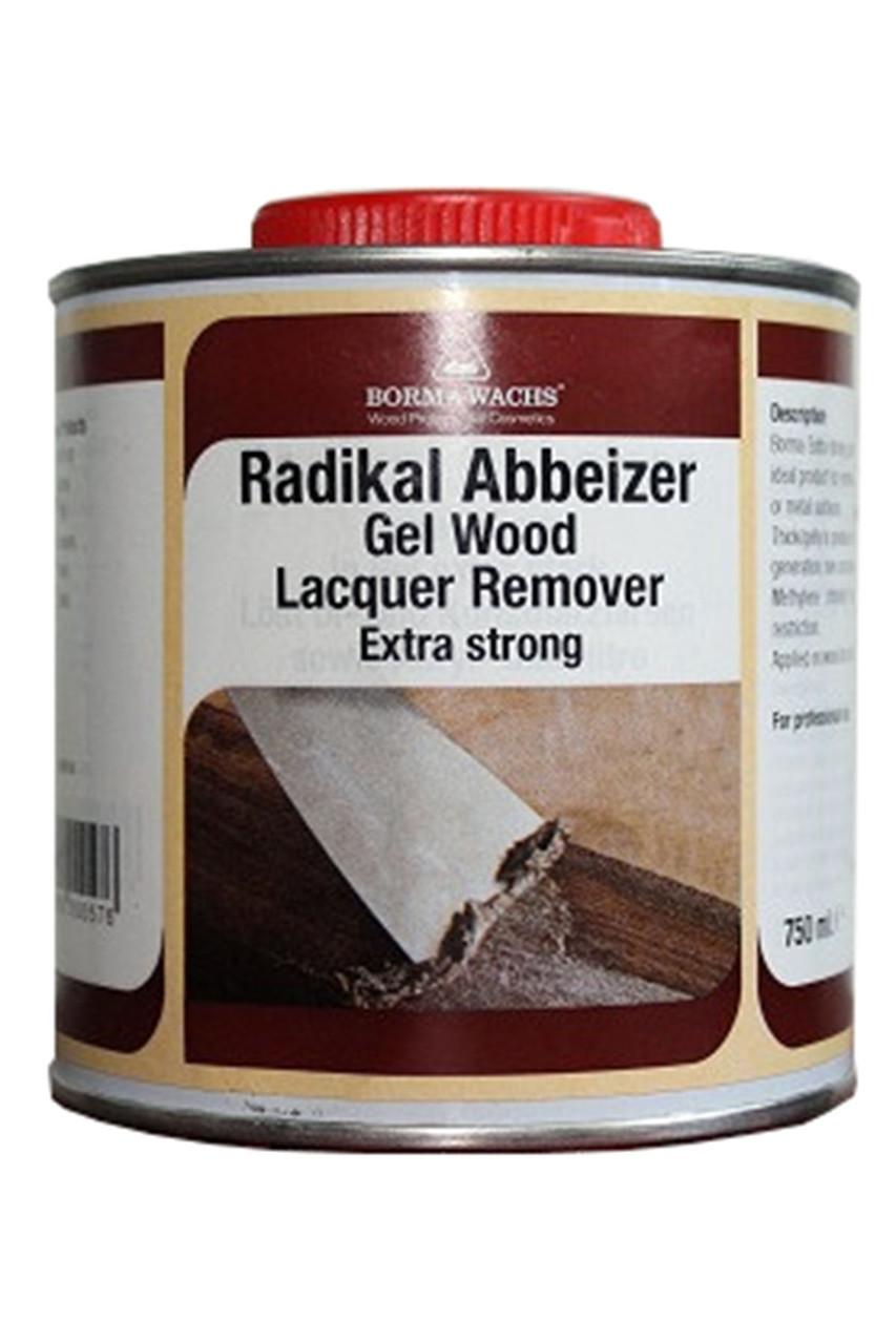 Сильнодействующая смывка-гель 0031-U  Strong Wood Stripper 750 ml