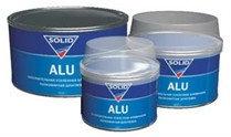 Шпатлевка Solid Alu с алюминиевым наполнением 1000 гр.