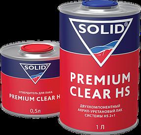Лак автомобильный прозрачный Premium Clear HS 2:1 (1500 мл)