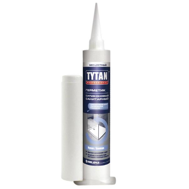Герметик силиконовый  белый мини 80мл TYTAN