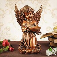 """Статуэтка """"Ангел с чашей"""", малый, бронза, 34 см"""