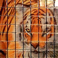 Мозаичное панно (30*30-0,285*0,285)