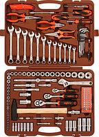 """OMT131S (OMT131S18) Набор инструмента универсальный 1/4"""", 3/8"""" и 1/2""""DR, 131 предмет"""
