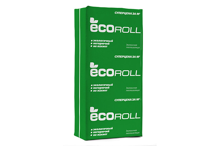 Упаковка теплоизоляции Knauf Экоролл TS 040 1000x610x50 10 шт