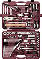 """Набор инструмента универсальный 1/4"""", 3/8"""" и 1/2""""DR, 142 предмета UTS0142, фото 1"""