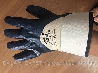 Перчатки хб МБС полный облив, Рабочие спец перчатки оптом