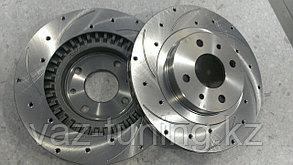 """Тормозные диски 14"""" вентилируемые с перфорацией"""