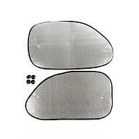 Набор светоотражающих шторок на боковые окна TORSO, 38x68 см., на присосках, 2 шт, фото 1
