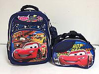 Школьный рюкзак в комплекте для мальчика, с 1-го по 3-й класс.Высота 38 см, длина 28 см, ширина 15 см., фото 1