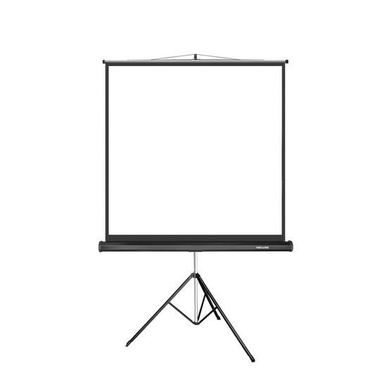 Экран для проекторов Deluxe DLS-T153x На штативе 153х153 Matt white Чёрный