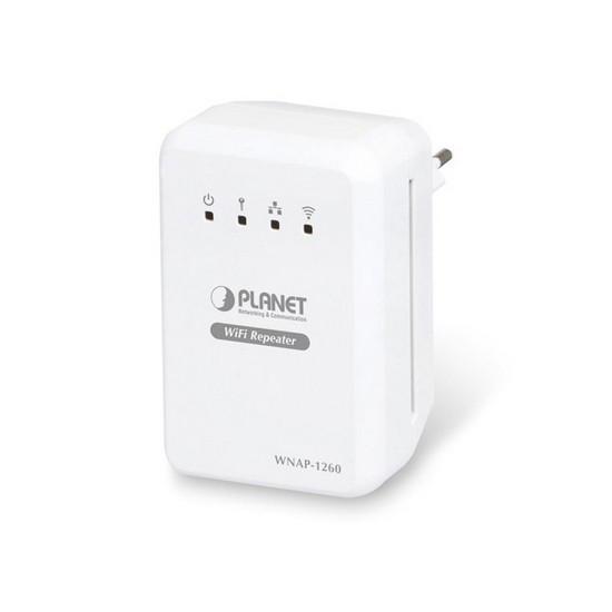 Универсальный WiFi усилитель / маршрутизатор Planet WNAP-1260 1WAN/LAN порт 10/100 Мбит/с 300М