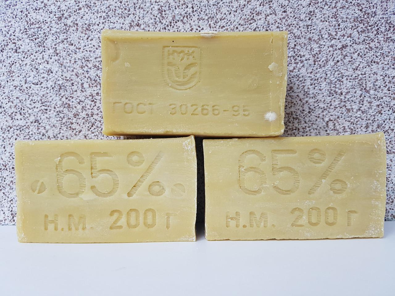 Хозяйственное мыло, 200 гр, 65%