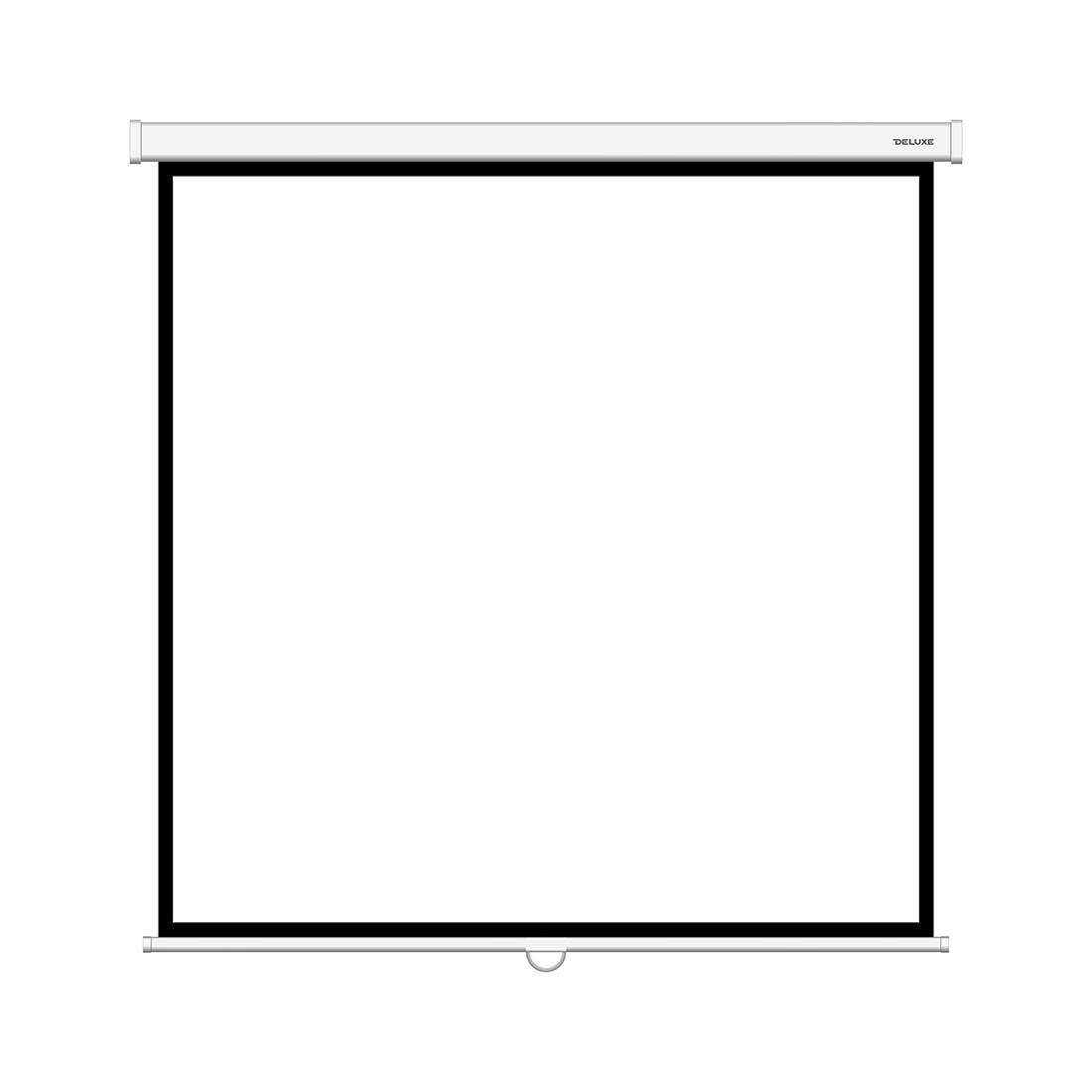 Экран для проекторов Deluxe DLS-M203xW Настенный 203x203 Matt white Белый