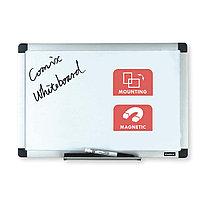 Доска магнитно-маркерная Comix BO4560 Настенная 45*60 см с полкой для аксессуаров Белый