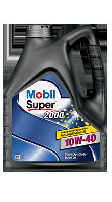 Моторное масло Mobil Super 2000 10W40 4L