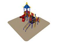 Игровой комплекс Romana, крыша, лестница, лаз, горка