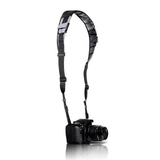 Ремень для фото-видео камеры Deluxe DLCA-201B Универсальный Укреплён нейлоновыми нитями