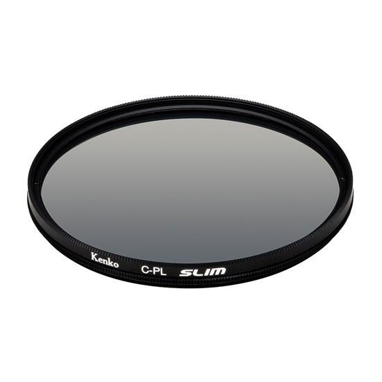 Фильтр для объектива Kenko 77S Circular PL SLIM Поляризационный (CPL) Серия SMART 77 мм Чёрный