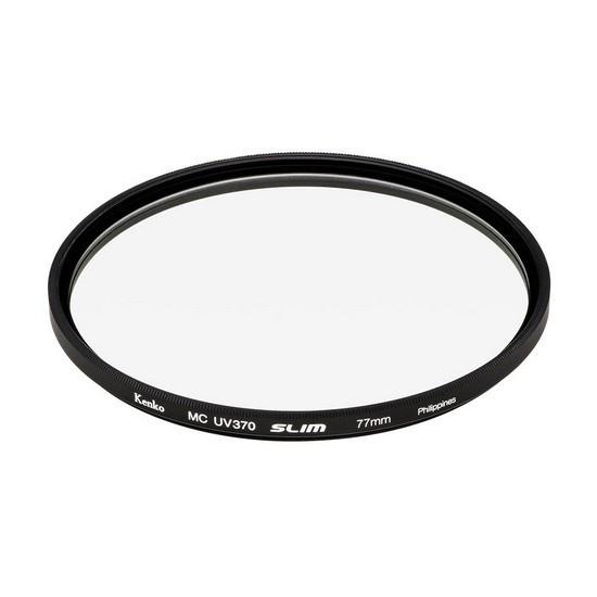 Фильтр для объектива Kenko 77S UV370 SLIM Ультрафиолетовый (UV) Серия SMART 77 мм Чёрный