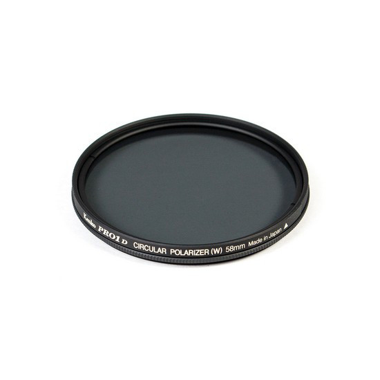 Фильтр для объектива Kenko 58S PRO1D C-PL (W) Поляризационный (CPL) Серия PRO1D 58 мм Чёрный