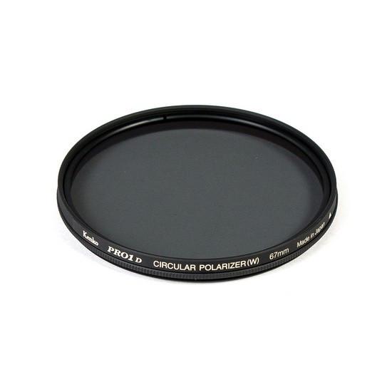 Фильтр для объектива Kenko 67S PRO1D C-PL (W) Поляризационный (CPL) Серия PRO1D 67 мм Чёрный