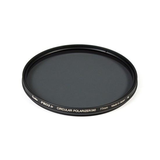 Фильтр для объектива Kenko 77S PRO1D C-PL (W) Поляризационный (CPL) Серия PRO1D 77 мм Чёрный