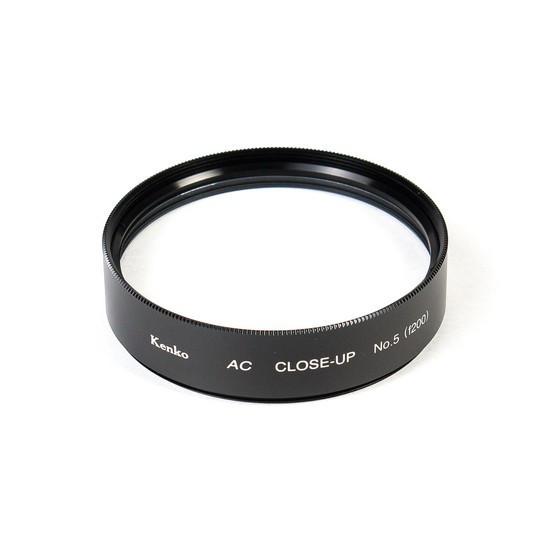 Фильтр для объектива Kenko 58S AC C-UP NO5 Макрофильтр ахромат 5 дптр 58 мм Чёрный