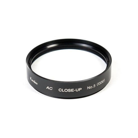 Фильтр для объектива Kenko 52S AC C-UP NO3 Макрофильтр ахромат 3 дптр 52 мм Чёрный