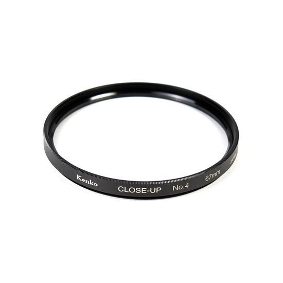 Фильтр для объектива Kenko 67S CLOSE-UP NO.4 Макрофильтр 4 дптр 67 мм Чёрный