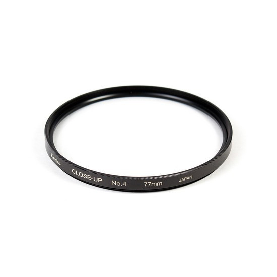 Фильтр для объектива Kenko 77S CLOSE-UP NO.4 Макрофильтр 4 дптр 77 мм Чёрный
