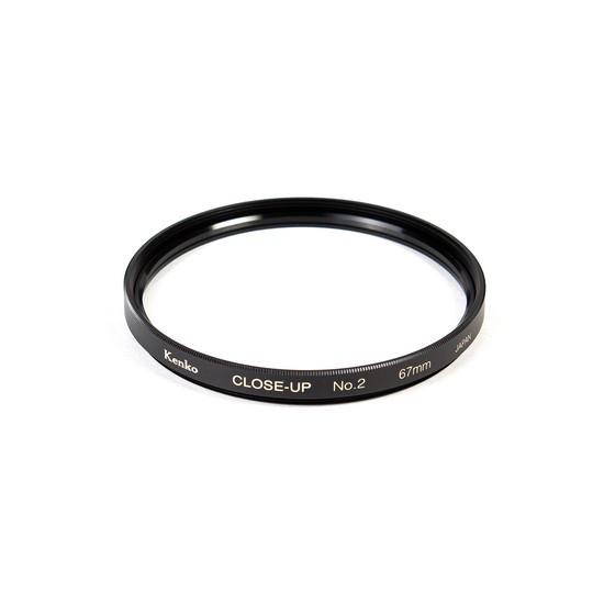 Фильтр для объектива Kenko 67S CLOSE-UP NO.2 Макрофильтр 2 дптр 67 мм Чёрный