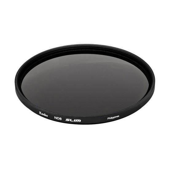 Фильтр для объектива Kenko 62S ND8 SLIM Нейтрально-серый (ND8) Серия SMART 62 мм Чёрный