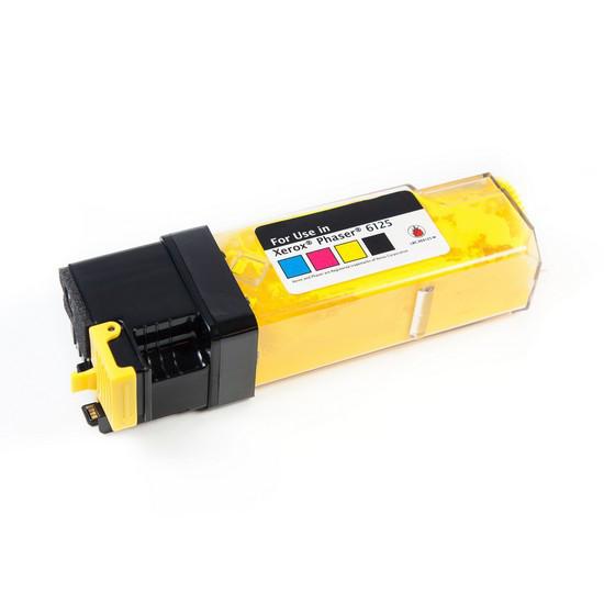 Тонер-картридж Katun Для принтеров Xerox Phaser 6125 Жёлтый 1000 страниц.