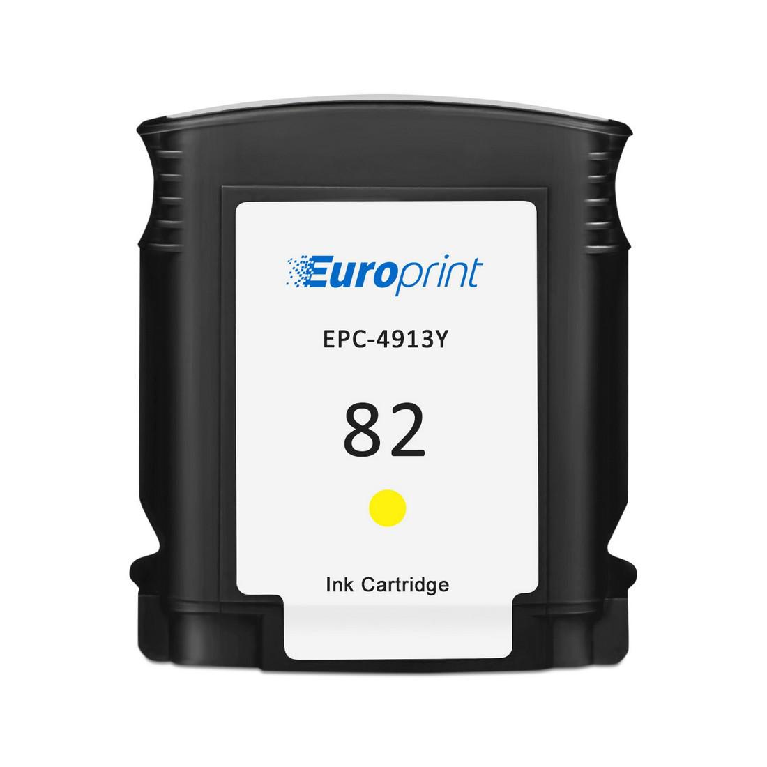 Картридж Europrint EPC-4913Y №82