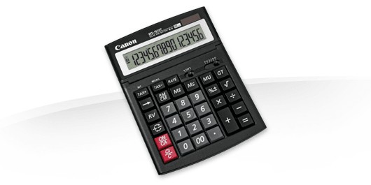 Калькулятор Canon WS-1610T (0696B001)