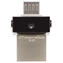 USB Флеш 16GB 3.0 Kingston OTG DTDUO3/16GB металл, фото 3