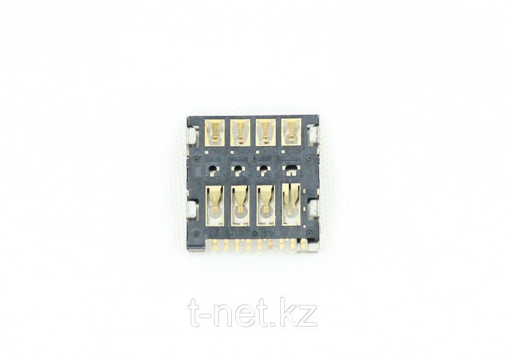 Сим коннектор Samsung i8262