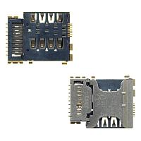 Сим коннектор с флеш картой Samsung i8552/ i8262/ G350