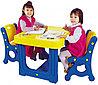 Парта с двумя стульями Haenim Toys DS-905