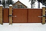 Ворота распашные, фото 3